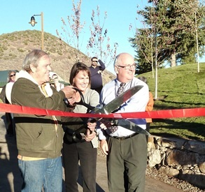 Kearns Tunnel Ribbon Cutting