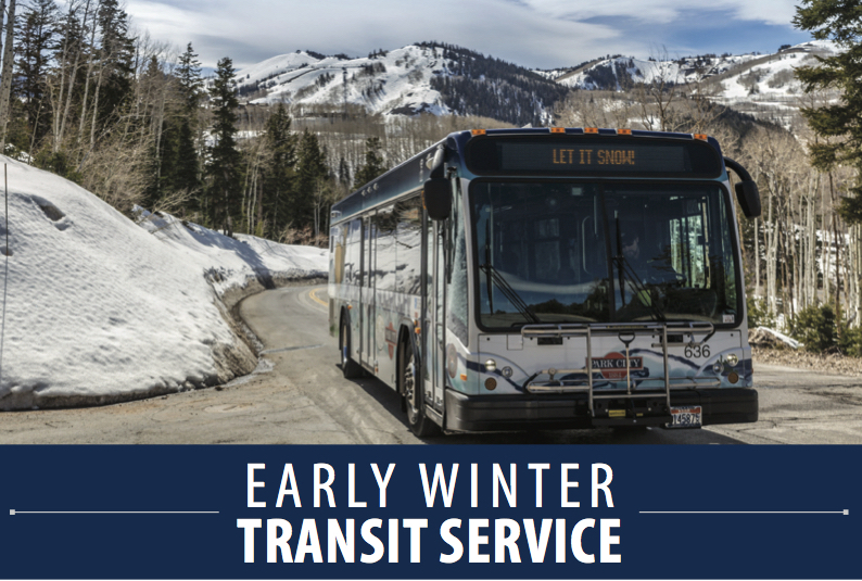 Early Winter Transit Route Changes
