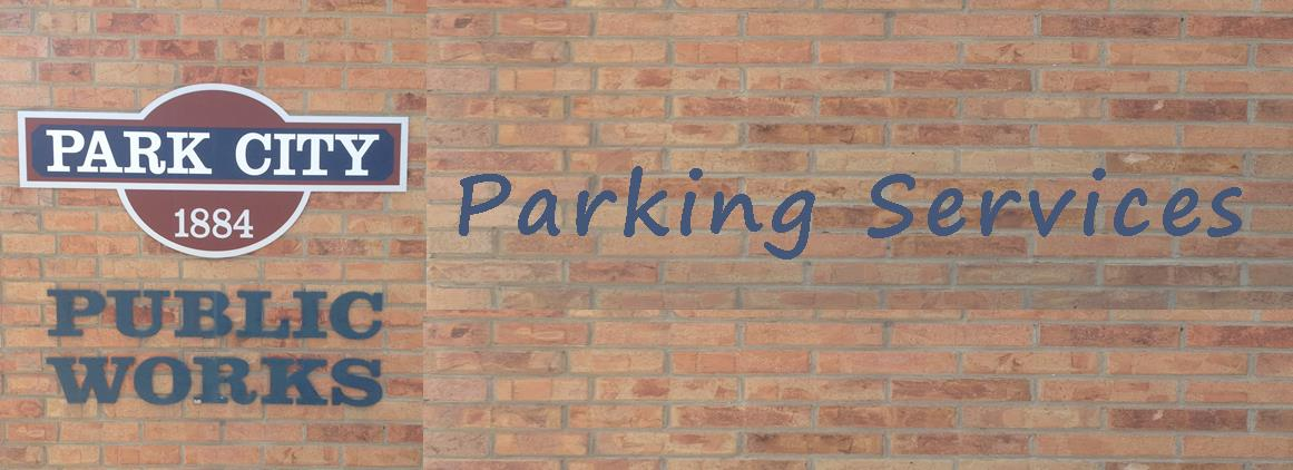 Parking Service Homepage